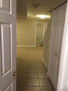 One bedroom basement apartment for rent in milton