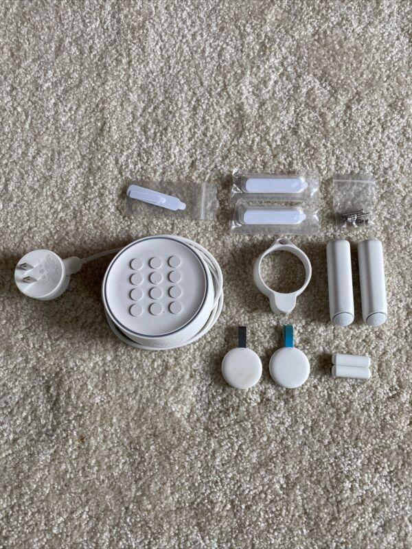 Google - Nest Secure Alarm System Starter Pack (H1500ES) White