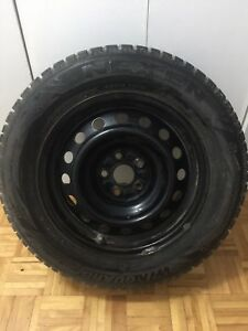 Winter tires(4) with rims
