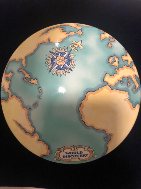 TIFFANY & CO Tauck World Discovery Atlas Porcelain Trinket Box France 2000 879