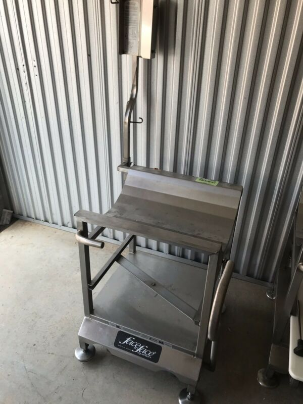 Deli Buddy Face To Face Slicer Cart Stand All Stainless Steel Commercial