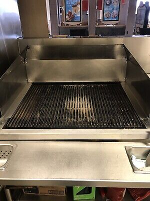 Bakers Pride Heavy Duty Gas Floor Commercial Charbroil Flame Grill Char Broiler