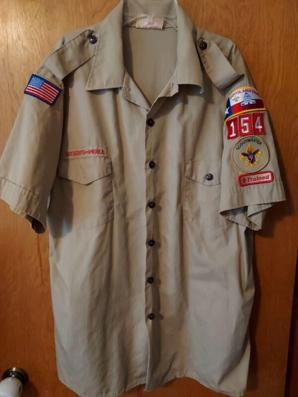 Official boy scout shirt Men