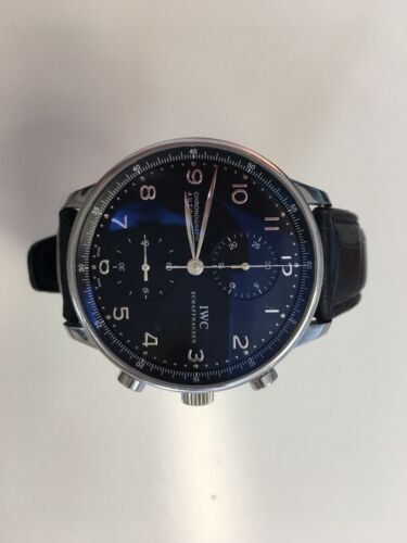 IWC  Portuguese Automatic Chronograph Pre-Owned (ref. 3714) - watch picture 1
