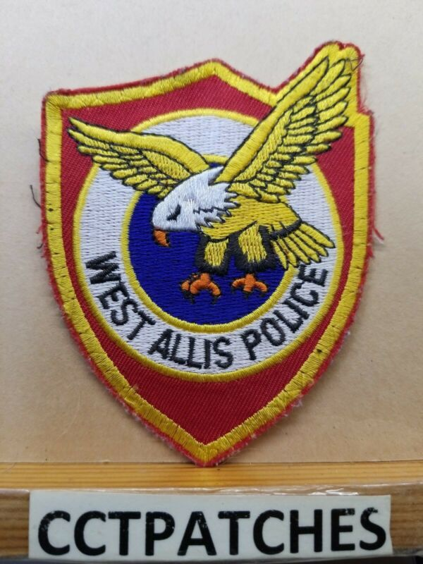 WEST ALLIS, WISCONSIN POLICE SHOULDER PATCH WI