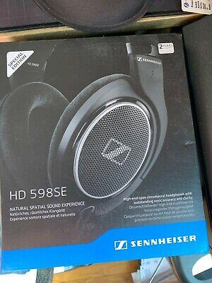 BRAND NEW SEALED Senheiser HD 598SE Special Edition open circumaural headphones!