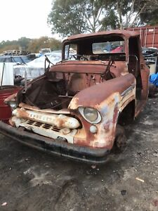 Chevrolet 1956 pick up cab truck