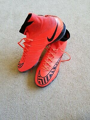 Nike Mercurial Superfly Size 8 Boys Indoor Astro Football Boots Brand New