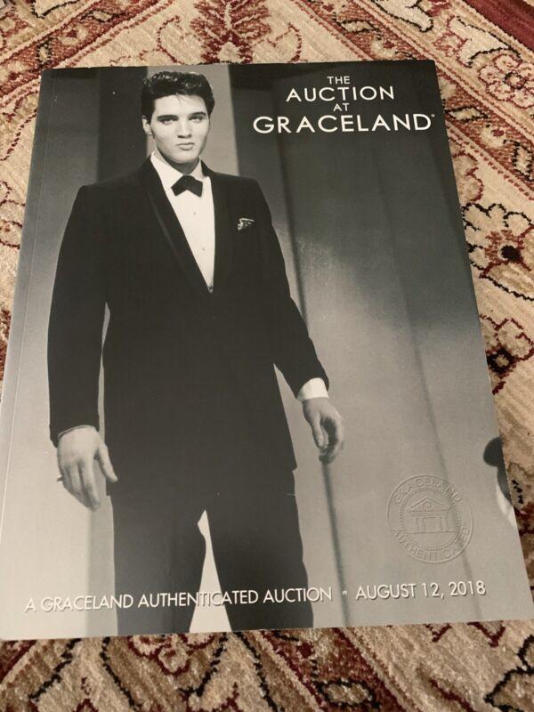 AUCTION ELVIS PRESLEY CATALOG Graceland Book 2018