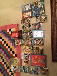 95% Discount Books Good condition and Checkers board game