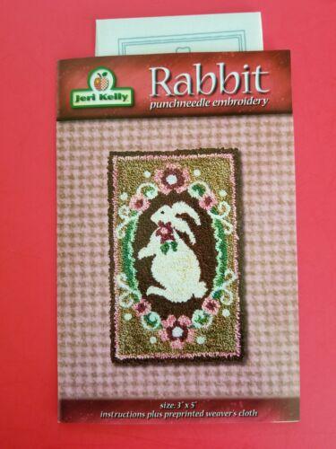 PUNCH NEEDLE PATTERN ~ Rabbit ~ Jeri Kelly Easter Spring