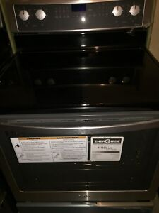 Stainless steel duel convection range for sale