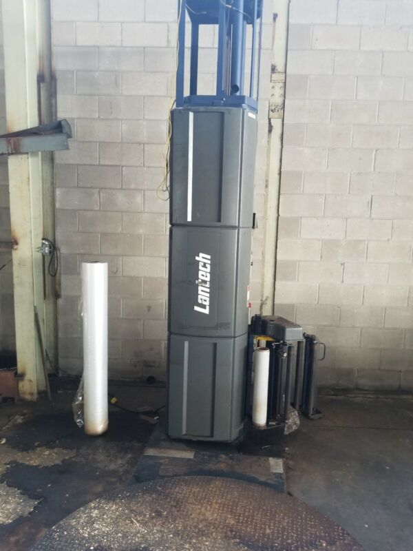 """Lantech Q300 Stretch Wrapper 65"""" very good working order"""