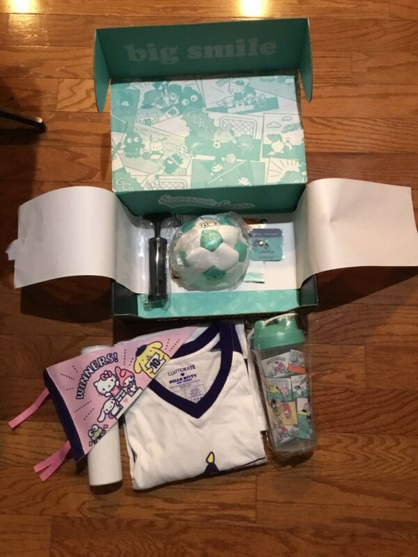 Sanrio X Loot Crate Box (Supercute Sports) ~~ NIB!