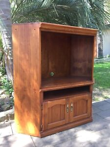 Large Wooden TV Cabinet