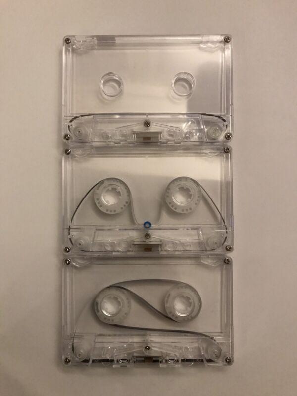 Cassette Tape Loop X3 Handmade Endless Looping Ambient Tascam Portastudio