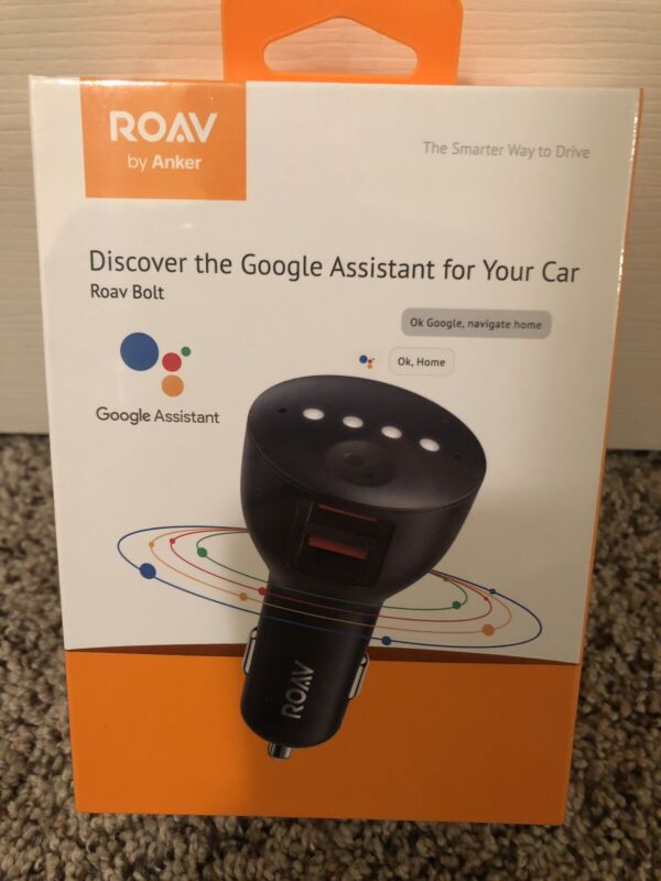Roav by Anker R5360Z11 Bolt Discover Google Assist for Your Car Black Assistant
