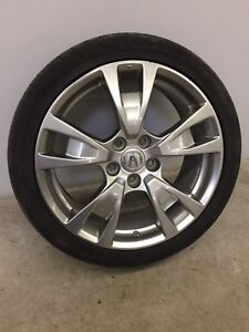 "Acura mags 4 x 19"" with Goodyear tires 245/40/19"