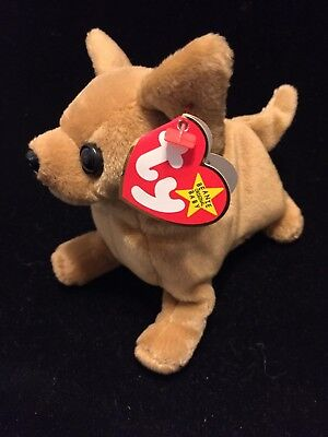 TY Beanie Baby TINY The Chihuahua Retired with errors. Rare, used for sale  Shipping to Canada