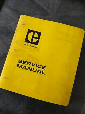 Cat Caterpillar D5 Tractor Service Manual