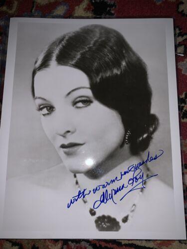 Myrna Loy Signed 8x10 - $90.00