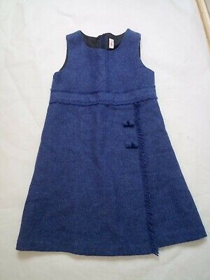 Il gufo made in Italy blue girls dress size 10