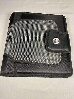 Case-it Mini Tab 3-ring Binder W 2 Capacity Black Wextra Sheet Protectors