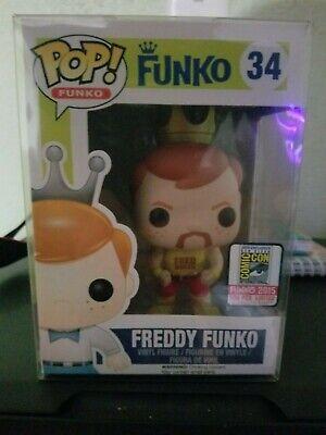 Freddy Funko Hulk Hogan 2015 SDCC LE 1/500 Rare WWF Funko Fundays pop