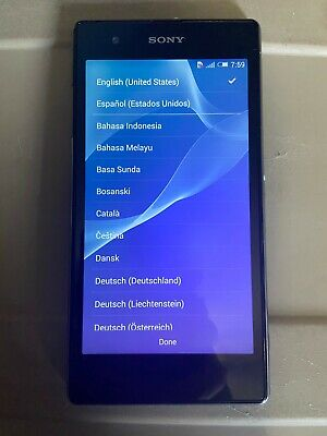 Mint Condition * Sony Xperia Z1s - C6916 - 32GB - Black (T-Mobile) ~30199