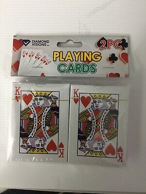 New Sealed 2 Decks Of Playing Cards