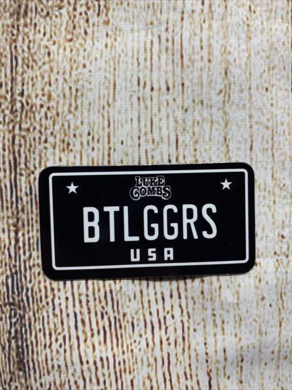 Luke Combs Bootleggers BTLGGRS USA MAGNET