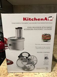 KitchenAid Food Processor Stand Mixer Attacent