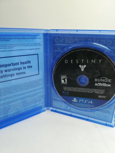 Destiny For PlayStation 4 PLAYSTATION 4 PS4 Shooter Video Game  - $5.00