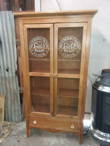Vintage / antique pie safe cabinet