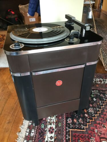 """RCA 16"""" Radio Station Transcription Turntable, Easy Shipping, for Tube Amp"""