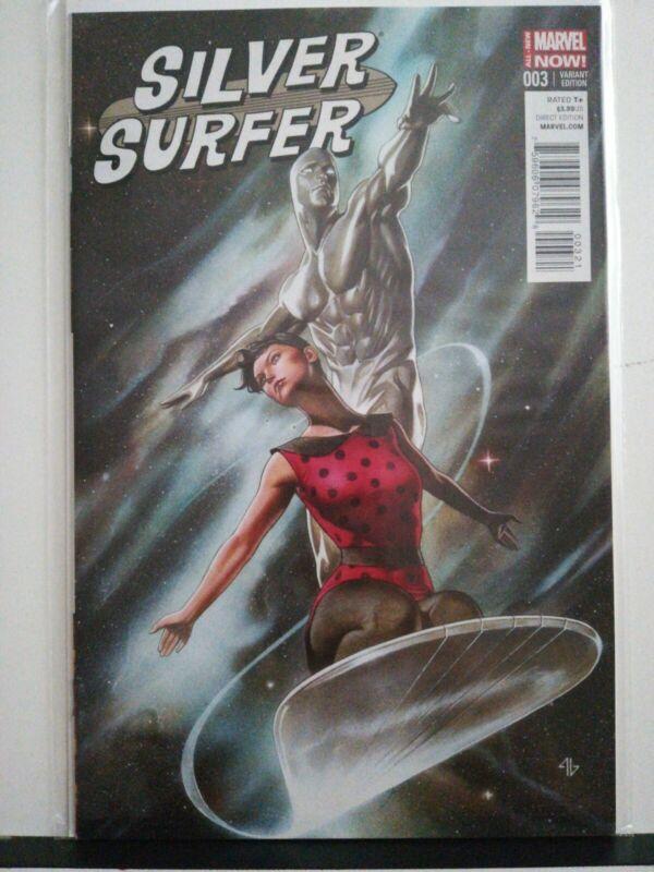 Silver Surfer (2014) #3 Adi Granov 1:25 Variant NM RARE HTF