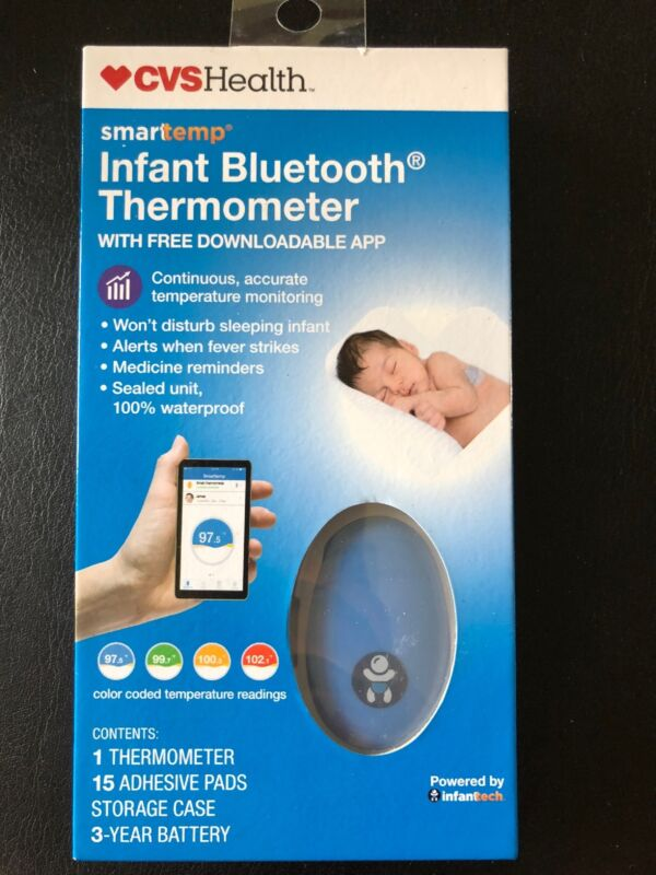 CVS SmartTemp Infant Bluetooth Thermometer