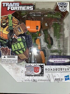 Roadbuster Transformers Generations 30th Anniversary Figure Autobot 2014 MISB