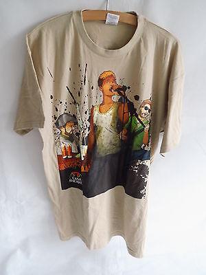 Bacardi Casa  T-Shirt Größe L  in beige  Neu und OVP siehe Foto