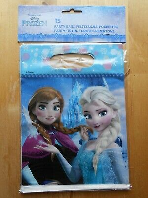 15 DISNEY FROZEN Party Tüten Bags Geschenketüten Kindergeburtstag Mitgebsel (Frozen Kinder Geschenke)