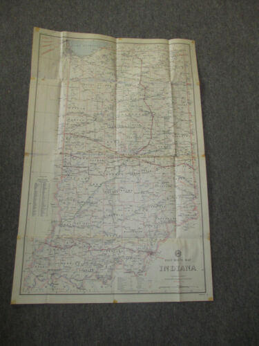 Lot of 4 Vintage Large Wall Maps, Solar System, World, US, Indiana