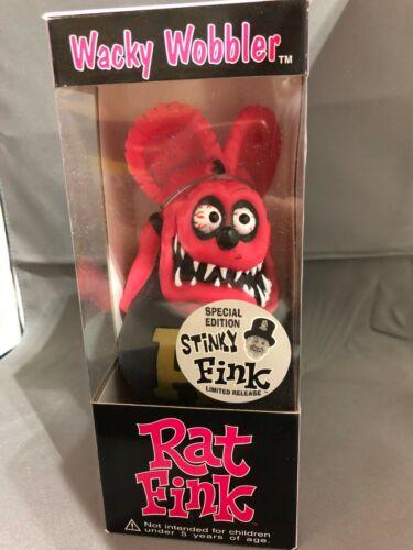Funko Ed Big Daddy Roth Rat Fink STINKY FINK Wacky Wobbler Bobble Head Figure