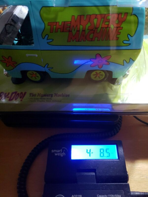 SCOOBY DOO Mystery Machine Die-Cast 1:18 Scale (2003, Johnny Lightning) RARE!