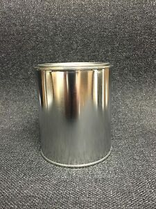 Quart Size Empty Metal Paint Cans With Lids 12 Cans And 12