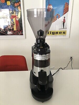 Gino Rossi Rr45 Commercial Fully Automatic Espresso Grinder Burr Used