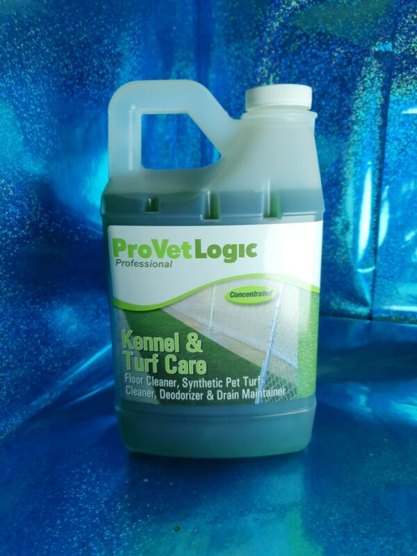 ProVetLogic Kennel Turf Care Floor Cleaner Synthetic Pet Drain Maintainer Opened