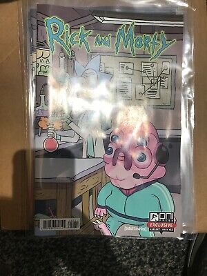 Rick and Morty #52 Rare Panel Variant SDCC 2019 Oni Press 1st Appearance