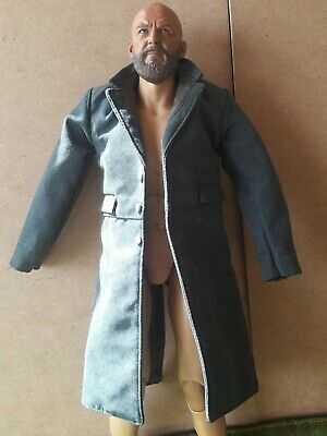 1/6 RED DEATH WILDERNESS RIDER COWBOY GREEN LINED COAT FUNTIONAL (NO BODY)