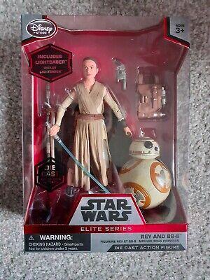 Star Wars Elite Series Die Cast Figure: Rey & BB-8