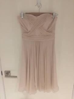 Bridesmaid / Evening / Formal Dress - Soft Pink